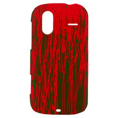 Red and green pattern HTC Amaze 4G Hardshell Case