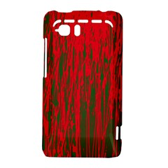 Red and green pattern HTC Vivid / Raider 4G Hardshell Case