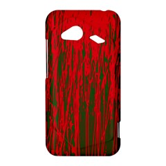 Red and green pattern HTC Droid Incredible 4G LTE Hardshell Case