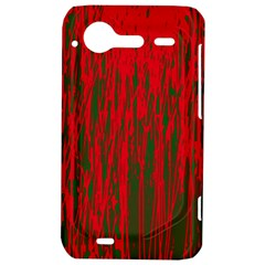 Red and green pattern HTC Incredible S Hardshell Case
