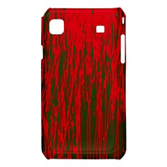 Red and green pattern Samsung Galaxy S i9008 Hardshell Case