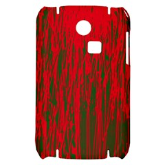 Red and green pattern Samsung S3350 Hardshell Case