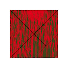 Red and green pattern Acrylic Tangram Puzzle (4  x 4 )