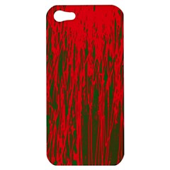 Red and green pattern Apple iPhone 5 Hardshell Case