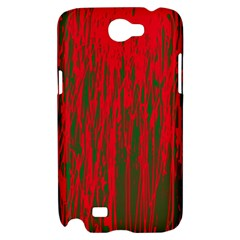 Red and green pattern Samsung Galaxy Note 2 Hardshell Case