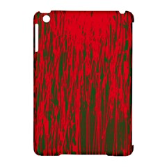 Red and green pattern Apple iPad Mini Hardshell Case (Compatible with Smart Cover)
