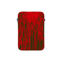 Red and green pattern Apple iPad Mini Protective Soft Cases