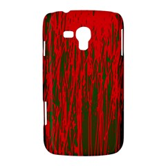 Red and green pattern Samsung Galaxy Duos I8262 Hardshell Case