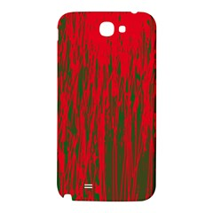Red and green pattern Samsung Note 2 N7100 Hardshell Back Case