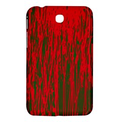 Red and green pattern Samsung Galaxy Tab 3 (7 ) P3200 Hardshell Case