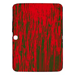 Red and green pattern Samsung Galaxy Tab 3 (10.1 ) P5200 Hardshell Case