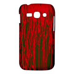 Red and green pattern Samsung Galaxy Ace 3 S7272 Hardshell Case