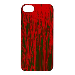 Red and green pattern Apple iPhone 5S/ SE Hardshell Case