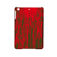 Red and green pattern iPad Mini 2 Hardshell Cases