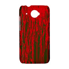 Red and green pattern HTC Desire 601 Hardshell Case