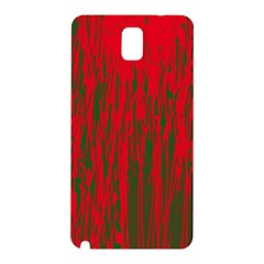 Red and green pattern Samsung Galaxy Note 3 N9005 Hardshell Back Case