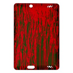 Red and green pattern Amazon Kindle Fire HD (2013) Hardshell Case