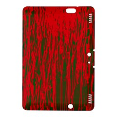Red and green pattern Kindle Fire HDX 8.9  Hardshell Case