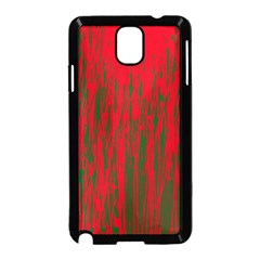 Red and green pattern Samsung Galaxy Note 3 Neo Hardshell Case (Black)