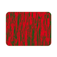 Red and green pattern Double Sided Flano Blanket (Mini)