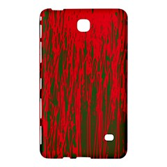 Red and green pattern Samsung Galaxy Tab 4 (7 ) Hardshell Case