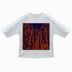 Blue and orange pattern Infant/Toddler T-Shirts