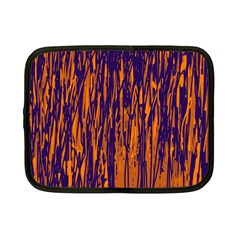 Blue and orange pattern Netbook Case (Small)
