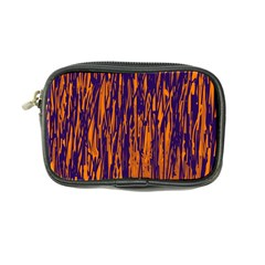 Blue and orange pattern Coin Purse