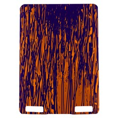 Blue and orange pattern Kindle Touch 3G