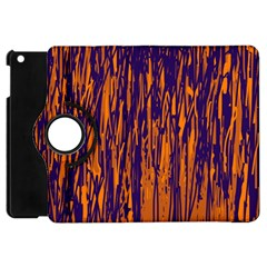 Blue And Orange Pattern Apple Ipad Mini Flip 360 Case