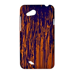 Blue and orange pattern HTC Desire VC (T328D) Hardshell Case