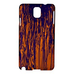 Blue and orange pattern Samsung Galaxy Note 3 N9005 Hardshell Case