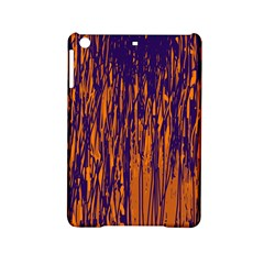 Blue and orange pattern iPad Mini 2 Hardshell Cases