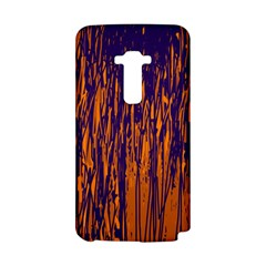 Blue and orange pattern LG G Flex
