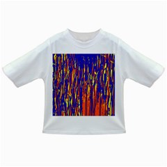 Orange, blue and yellow pattern Infant/Toddler T-Shirts