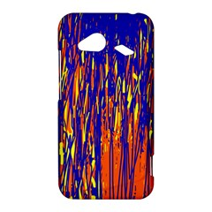 Orange, blue and yellow pattern HTC Droid Incredible 4G LTE Hardshell Case