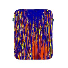 Orange, blue and yellow pattern Apple iPad 2/3/4 Protective Soft Cases