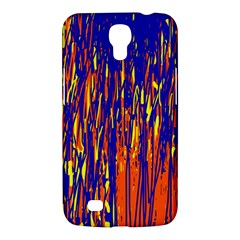 Orange, blue and yellow pattern Samsung Galaxy Mega 6.3  I9200 Hardshell Case