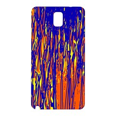 Orange, blue and yellow pattern Samsung Galaxy Note 3 N9005 Hardshell Back Case