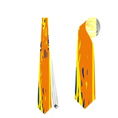 Yellow pattern Neckties (Two Side)