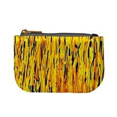 Yellow pattern Mini Coin Purses