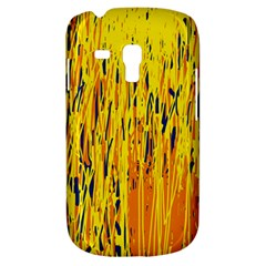 Yellow pattern Samsung Galaxy S3 MINI I8190 Hardshell Case