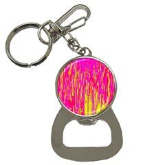 Pink and yellow pattern Bottle Opener Key Chains