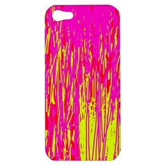 Pink and yellow pattern Apple iPhone 5 Hardshell Case