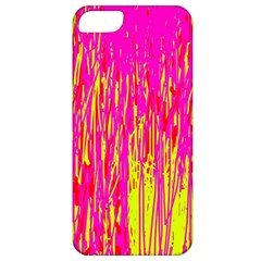 Pink and yellow pattern Apple iPhone 5 Classic Hardshell Case