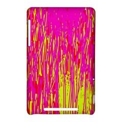 Pink and yellow pattern Nexus 7 (2012)