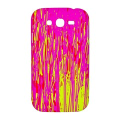Pink and yellow pattern Samsung Galaxy Grand DUOS I9082 Hardshell Case