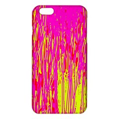 Pink and yellow pattern iPhone 6 Plus/6S Plus TPU Case