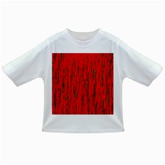 Decorative red pattern Infant/Toddler T-Shirts