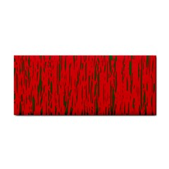 Decorative red pattern Hand Towel